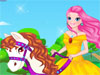 Princess Horse Free: Girls, this cute princess loves riding horse so much. Now, dress her up and you can make this horse become fashionable with many choices. Enjoy.