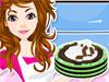 Mint Chocolate Chip Ice Cream Cake