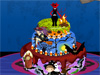 Halloween  <a href='http://www.dressupgirl.net/group-game/Cake-Games-248/1.html' target='_blank'>Cake</a>  Dessert: Girls, Halloween is coming. Let's organize a party with your friend, wear scary Halloween costumes and taste Halloween cake dessert.