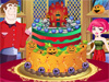 New Halloween Cake Decor: Girls, do you remember our superstar Babi. She has just passed the first mission and now, Brad's ghost suddenly appears and forces her to decor a Halloween cake. Help her a hand girls?