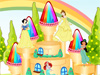 Disney Princess Cake Decor: Girls, do you love Disney princess? Let's decor a Disney princess cake for yourself. It is so fun. Show your imagination and enjoy this game.