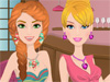 Fun Party Make Up: It's time for party girls. Let's have fun time with our beautiful girl Selena and her best friend forever. What do she need now? Amazing dress, cool accessories, fancy hairstyle and glam evening make up. Help her a hand and enjoy this fun <a href='http://www.dressupgirl.net/category/Girls-Makeover/1.html' target='_blank'>make up</a> games.