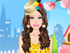 Doll Dotted Fashion: Girls, our cute doll love dotted clothes and accessories so much. Let's help  her choose perfect outfit and enjoy yourself with this game.