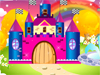 "Castle In The Sky Decor: Step into this dreamworld and, while there, work your outstanding creativity and decoration skills ""building"" the most stunningly gorgeous castle there is! Get it some new, candy-colored, cutely designed towers, surround it with lovely flowers and pretty, vivid green trees, decorate it with bright colored, cute little flags and so on. Enjoy!"