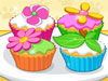 Flower Cupcake:It's time to prepare some yummy looking cupcakes. Follow the tool tip to mix the ingredients and prepare the cupcakes. Now prove yourself that your a great chef ! Happy Cooking.