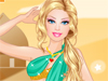Arabic Doll: Let's meet our beautiful doll girls. She is in Arabic country now and tries to become a Arabic princess. Let's help her dress up with pretty clothes and combine this with stunning accessories. Enjoy yourself.