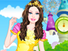 Prom Princess Dressup:  Tonight she  is the VIP guest of a fabulous prom party taking place at a beautiful castle. It is a thematic prom party where girls and boys must wear Disney fairy tale inspired princess and prince outfits.