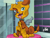 Frankie Stein Caring: Frankie Stein loves her puppy pal, Watzit. Watzit is the coolest zombie dog you'll ever meet! Care for Watzit at the spa and then dress him and Frankie up for their outing!