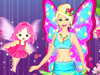 Fairy Queen: Girls, Barbie is a fairy queen and she always takes care about people and animals in her kingdom. Everyone loves her so much. Today she organizes a party for everyone. Let's help her dress up and enjoy this Barbie fairy game.