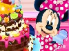 Minnie Mouse is throwing a house party today! She wants to serve a delicious cohocolate cake to her guests! She has finally found the best recipe! Get in to the kitchen with Minnie and bake the most delicious chocolate cake ever!