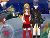 The young couple is joining to Halloween party, so they need fantastic costumes. Dress up them and try to get the highest score.