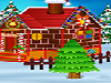 Baby Elsa is dreaming of her own Gingerbread house,can you help her with building one and afterwards decorate beautiful Christmas tree.Have fun playing.