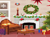 Christmas decorations make the holiday season even better, but a lot of hard work goes into making everything all holly and jolly. Santa Claus has elves working round the clock all year long just to keep the North Pole looking nice! In this game you can play interior decorator and give this living room a makeover it needs to look like it has some Christmas spirit. Choose from Christmas-themed d�cor like trees, ornaments, garlands, lights, and ribbons, plus many more options that can be moved wherever you like. You can even leave cookies out for Santa, if you want. I�ve never understood how he could eat cookies at every house without getting sick, but I guess I shouldn�t question the guy who brings me presents every year! I wouldn�t want a stocking full of coal for bad mouthing Santa!