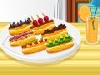 Let's make a delicious dessert for tonight! Small eclairs can be a good choice. If you haven't done before, you can follow the instructions and the recipe. Learn how to make and then decorate them however you like!