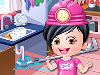 Baby Hazel is excited to style up for her new job as a plumber. With a wardrobe full latest collection of outfits and accessories, Hazel is confused what to wear. Mix and match shirts, skirts, tops, pants and other accessories to give Baby Hazel a gorgeous plumber dress up.