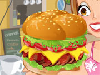 Who wants a tasty cheeseburger? Build your burger up from the bottom! Start by choosing your favourite bun and meat. Add fresh lettuce, sauces, tomatoes or a big slice of onion and then put a slice of cheddar in the middle. Wow, I can't wait to take a bite!