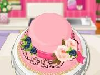 Do you like cooking? Especially making delicious desserts is really fun, right? If the dessert is a cake, then design is as important as the taste. Let us see how a good cook you are. Follow the recipe and use your skills to design the cake.