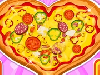 Pizza is maybe the most popular food recipe in the world. The modern pizza as we know was invented in Naples, Italy, and the dish and its variants have since become popular in many areas of the world. Play this awesome cooking game and learn how to make heart shaped pizza. The first step of this cooking lesson is to gather all the cooking utensils and ingredients hidden through the kitchen. Next you need to prepare the pizza dough by pouring the ingredients in the mixing bowl and mix really well at high speed. When the composition is done, roll the dough and cut into a heart shape. Now you only need to place all the ingredients according to your taste and place the pizza into the oven until is properly packed. Happy Cooking!