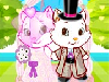 Your kitty princess has found the love of her life and you are planning a wedding ceremony for her! Look at those cuties; they spend all their time together. I'm sure they will look incredibly adorable in wedding clothes!