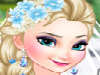 Wedding bells are about to ring out loud in Arendelle today, you know! Gorgeous queen Elsa and Jack Frost are getting married! As you can probably guess, her younger sister, lovely Anna is going to be her bridesmaid! Would you respond to the challenge of beautifying and styling up the two dazzling Frozen sisters for this dreamlike wedding? Start with the ravishing bride herself! Scan through Elsa's make-up kit and put together a superb elegant-polished, refined make-up look for her. Next, dress up the astonishing bride to be, as well! Which one of her stunning bridal gowns, all inspired from her already so famous, jaw-dropping sheer blue Frozen dress, best compliments her beauty and perfect silhouette? How about her snow-white haute couture one-shoulder gown or maybe you prefer one of her gorgeous shimmery, shape-enhancing ones or a stunning, elegant satin mermaid type of wedding dress instead? Style up her gorgeous, long, long light colored hair, as well, and remember to add a final touch of glitter to her look with the help of some resplendent diamond jewels. Have you ever enjoyed other�Frozen Elsa and Anna games�more inspiring than this one here? Next, enjoy styling up pretty princess Anna, too, getting her a diaphanous elegant look for her elder sister's wedding!