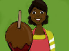 Natasha needs your help! She handles all the work in her Candied Apple Shop of Wonders but right now it's holiday season so her orders are twice as much than usual! Help her tend the customers and decorate the apples while she washes them and prepares the chocolate! Each customer wants a unique apple and they will ask you to do the math so work up both your brain and your hands!