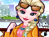 Queen Elsa is spending her winter vacation in her favorite city New York. First she wants to pamper herself with a nice facial treatment. Then give her a makeup. Last but not least, help her choose the most cute winter outfits. Have fun!