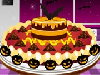 Even the scariest creatures cannot resist a tasty pie! Keep the Halloween spirits up and creatures harmless with this well-decorated pie!