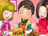 Cute Childrens' Thanksgiving Day