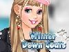 Winter is here so of course that the girl characters here on our site are doing their best so they could be pretty in this game and we know you can do a very good job in this Winter Down Coats because your mission is to help your new friend in this girl game get dressed in the most amazing and stylish winter outfit. We are sure this won't be a problem for you, after all your mission is a makeover game and a dress up game and we know you love these, but you have to pay attention to the outfit you choose. The title of the game is Winter Down Coats because the girl in the game, beside a fun and stylish winter makeover and winter outfit, she also wants a warm winter down coat and you have to choose the one which goes the best with the whole winter outfit and we are sure you will do a great job. Good luck!