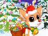 Christmas is around the corner. Santa has the gift list and he's getting ready for the busy Christmas night. On this journey, red nosed baby deer Rudolph will be helping Santa for the first time. He is so excited because he will be delivering the gifts to make children happy. Let's help Rudolph to get ready for this special night.