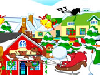 Christmas Town got a little messy when Santa left there to deliver the presents. All because of those naughty elves! Help us redecorate the town with your design skills!