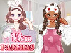 You can see from the title of the game , Warm Pajamas, that the very cute girl in this girl game is getting ready for a pajama party because she was invited by her best friend for a sleepover and of course that she is very excited and also curious about this, so come and try it out because we know you can have a good time with her, after all we know how much you enjoy girl games. This Warm Pajamas game here on our site is a super fun girl game in which your mission starts with a makeover level in which you have to try to make her prettier, but don't forget that she is getting ready for a pajama party so she needs a makeover that goes with that, not something very strong. Than you also get to dress up the girl in the cutest and most fashionable pajama ever. Good luck!