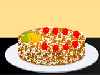 If you are a fan of coconut, try this delicious coconut cake recipe! Follow me to learn how to make one and then garnish it with delicious fruits. Do enjoy!