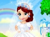 Every girl's dream is to be a beautiful bride one day. Today is Princess Sofia's wedding day and she is too excited. Can you help her to get ready for her dreamy wedding? Thanks to you she will feel like she is in a fairytale.