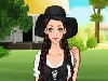 Gypsy is a slightly unusual fashion style with a lot of colors and accessories. Lauria wants to try Gypsy fashion but she does not know how to mix. Please choose her outfit so she is charming and beautiful