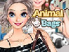 Aurora loves animals and she has a collection of animal bags. Today she chooses the perfect dress, makeup in her hues, hairstyles, accessories to fit the animal bag. Have fun!