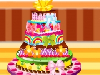 Today Daria's best friend is Fiona. Daria wants to make you a special cake. The cake is not a normal birthday cake but a delicious 5-layer cake. Daria alone will not help you to help her work together to finish the cake this afternoon.