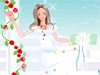 Bride in Rose Garden