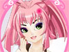 Anime Girl Make up: This is a really awesome make up game for girls and kids. This Anime Girl is very  sweet and adorable. She loves make up art and sometimes practice making up for herself. Let's see how her choose colors and accessories to create a new fresh look