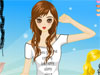 Ashley's Cute Dress Up: Ashley is so cute and now needs your help chosing the best clothes for her