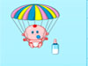 Parachute with Baby
