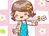 Baby Clothing Dress Up: Dress up this sweet baby in some cute little clothes.