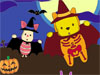 Piglet and Pooh on Halloween: Halloween is coming. Do you think that your favorite cartoon characters like Piglet, Pooh also should be masquerade on the Halloween? Great idea! Come here to color and dress up them in the way you like.