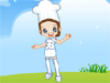 Job Doll Maker: A fun job for a girl to have. What will the job doll be, a ballerina, a chef, or a cute nurse?