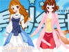 These two anime girl friends are ready to be dressing up. Help them choose an awesome outfit for each hot anime girl. Friends forever anime dress up, turn into your favorite anime characters.