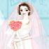 A Beautiful Model and Wedding Dresses