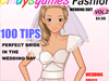 Magazine Wedding Suit: This girl wants to be a beautiful bride in her special day. Her image on the wedding day will be taken to post the wedding magazine so she needs to dress up a nice wedding suit. Are you ready to help her?