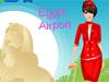 Stylish Air hostess