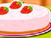 Strawberry Mint Pie