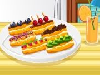 Cooking Frenzy: Eclairs